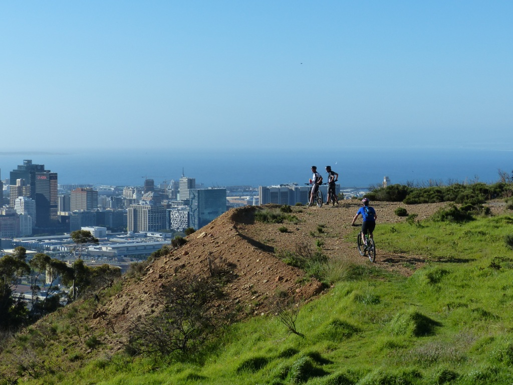 mountain biking in Cape Town