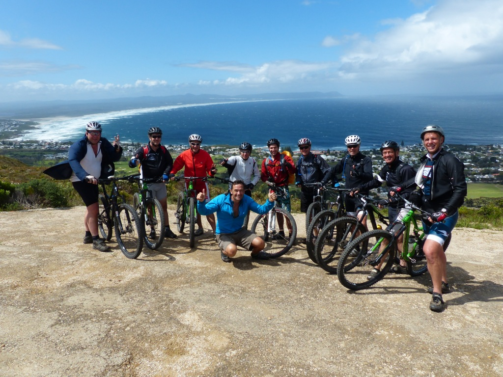 Mountain bike group