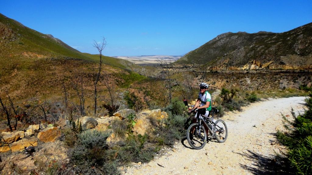 Mountain biking on the old waggon road