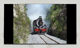 Mountain Biking Steam Train Tour